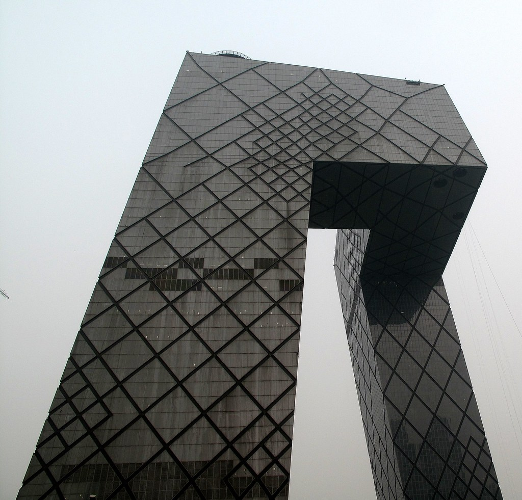 Koolhaass CCTV Building Fits Beijing as City of the
