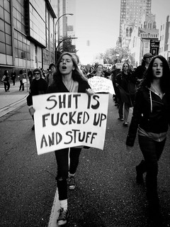 Shit is fucked up and stuff - occupy vancouver | by Unlikely Ghost