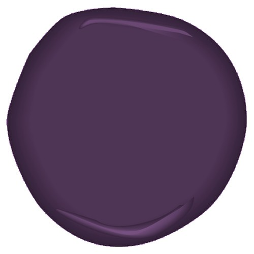 purplicious CSP-465 | by Benjamin Moore Colors