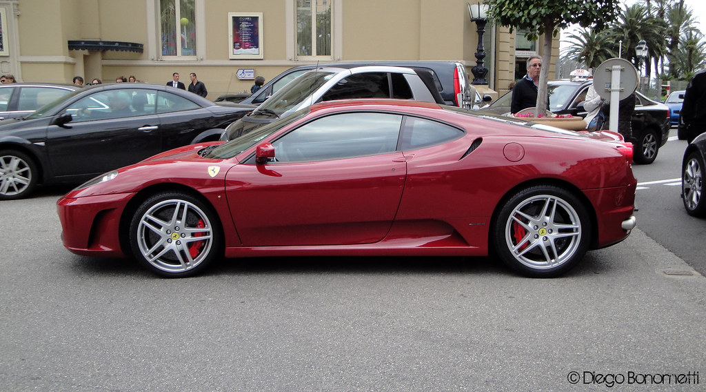 Ruby Red Ferrari F430 In Rosso Mugello Bonnny