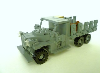 "GMC CCKW 2.5 Ton ""Deuce and a Half"" - Long wheelbase varient 