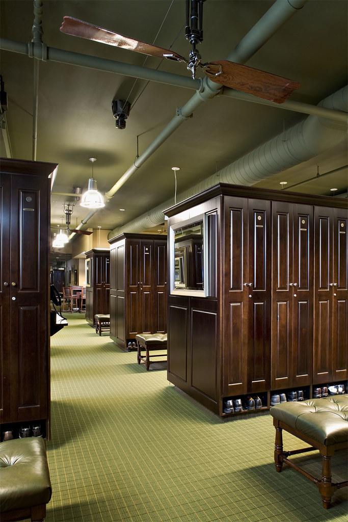 Evanston Golf Club Mens Locker Room Project Evanston