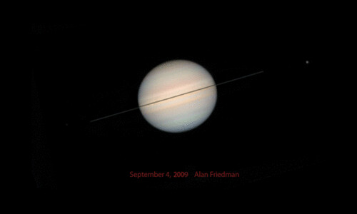 Alan Friedman: Saturn over 6 years | by thebadastronomer