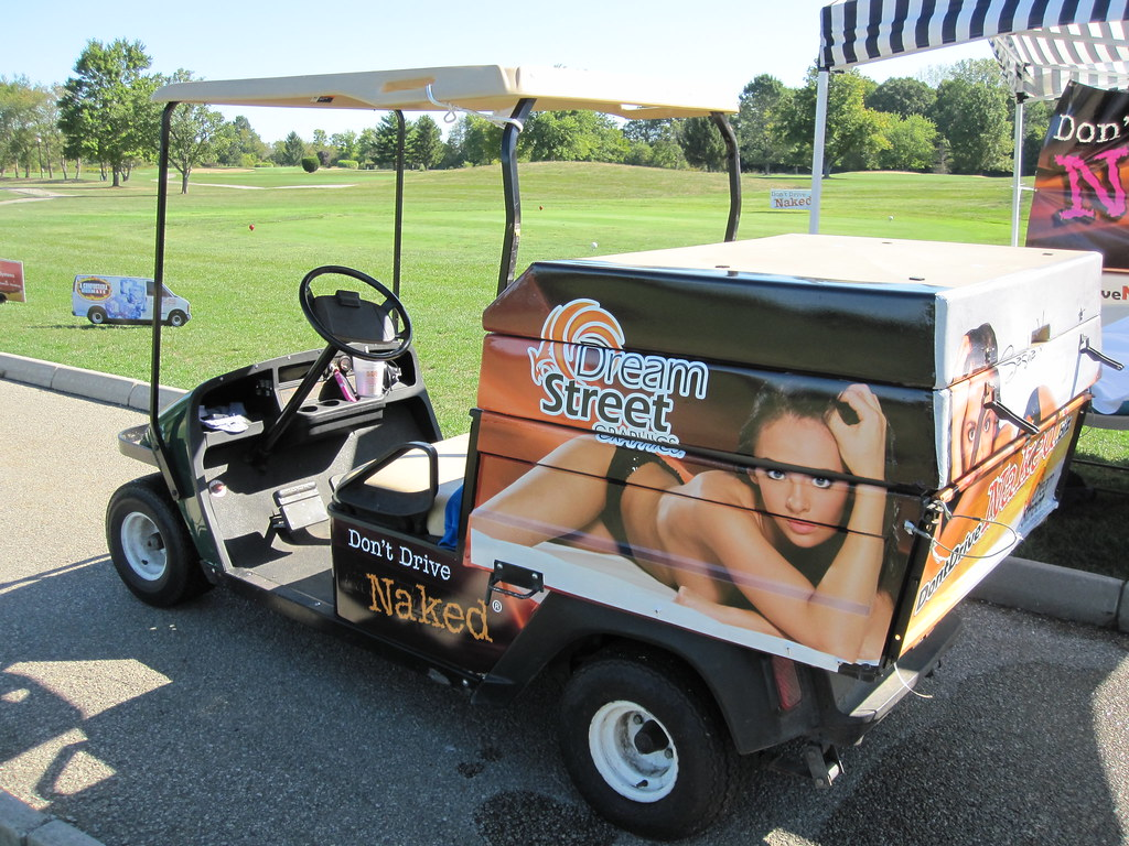 Beverage Golf Cart With Custom Vehicle Wrap And Graphics Flickr