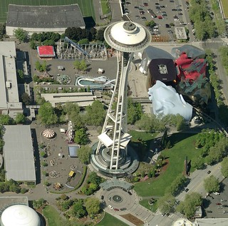 Space Needle | by Pictometry International Corp.