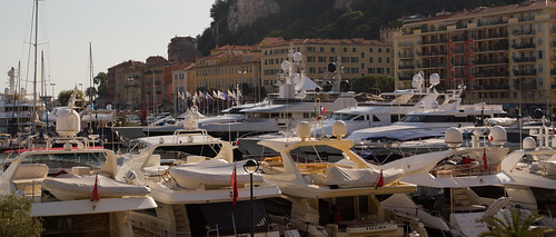 Motor yachts in the Port of Nice | by GetIntoZeChoppa
