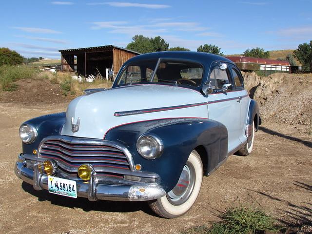 1946 2 door chevy coupe took this before it was for 1946 chevy 2 door sedan