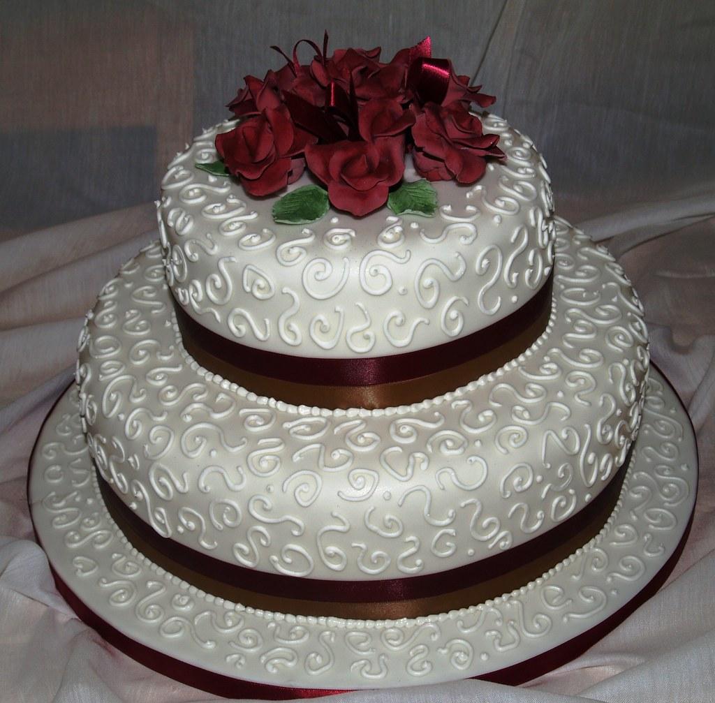 Tier Round Wedding Cakes