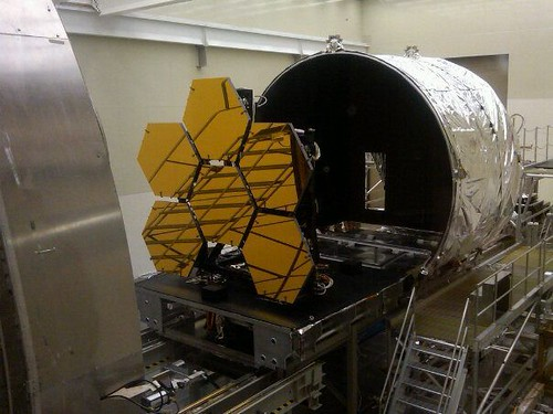 Primary Mirror Segment Cryogenic Testing | by James Webb Space Telescope