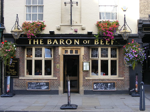how to cook baron of beef