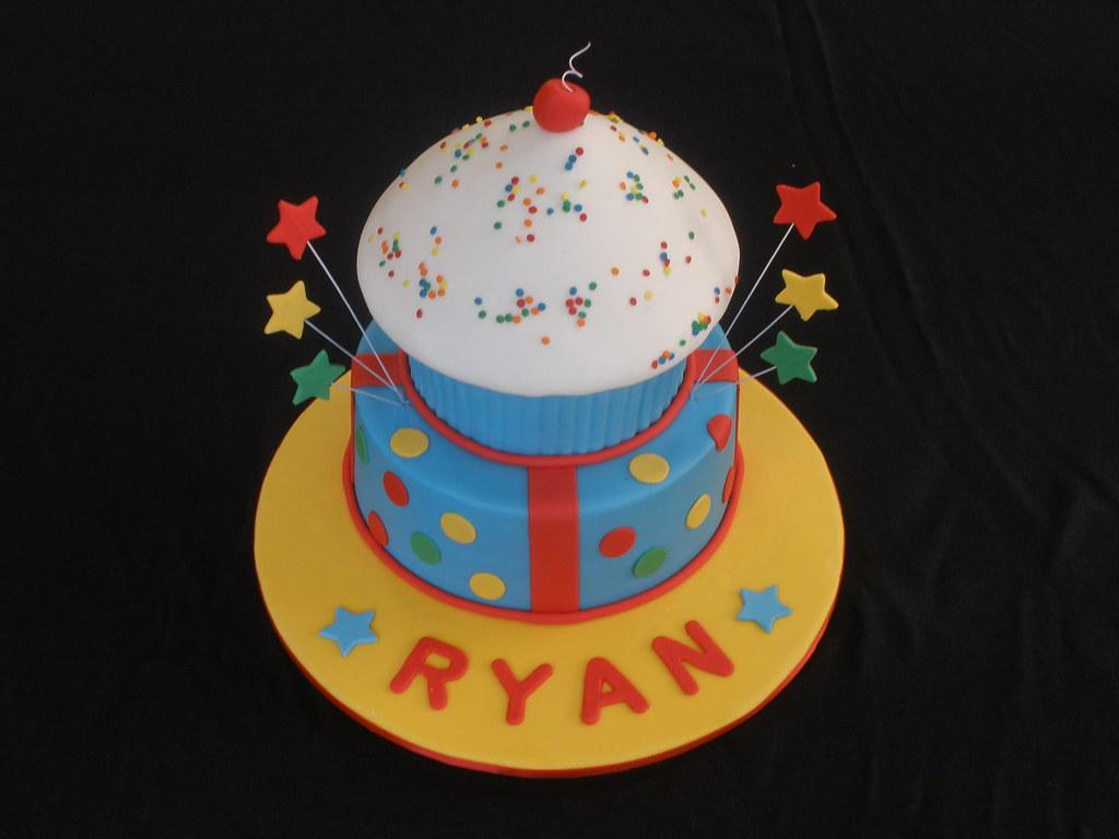 Happy 2nd Birthday Ryan Birthday Cake For My Baby Boy Flickr