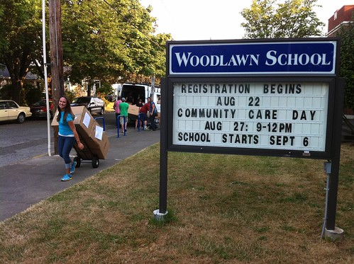 Backpack Donation with Schoolhouse Supplies at Woodlawn Elementary (6) | by KEEN Footwear