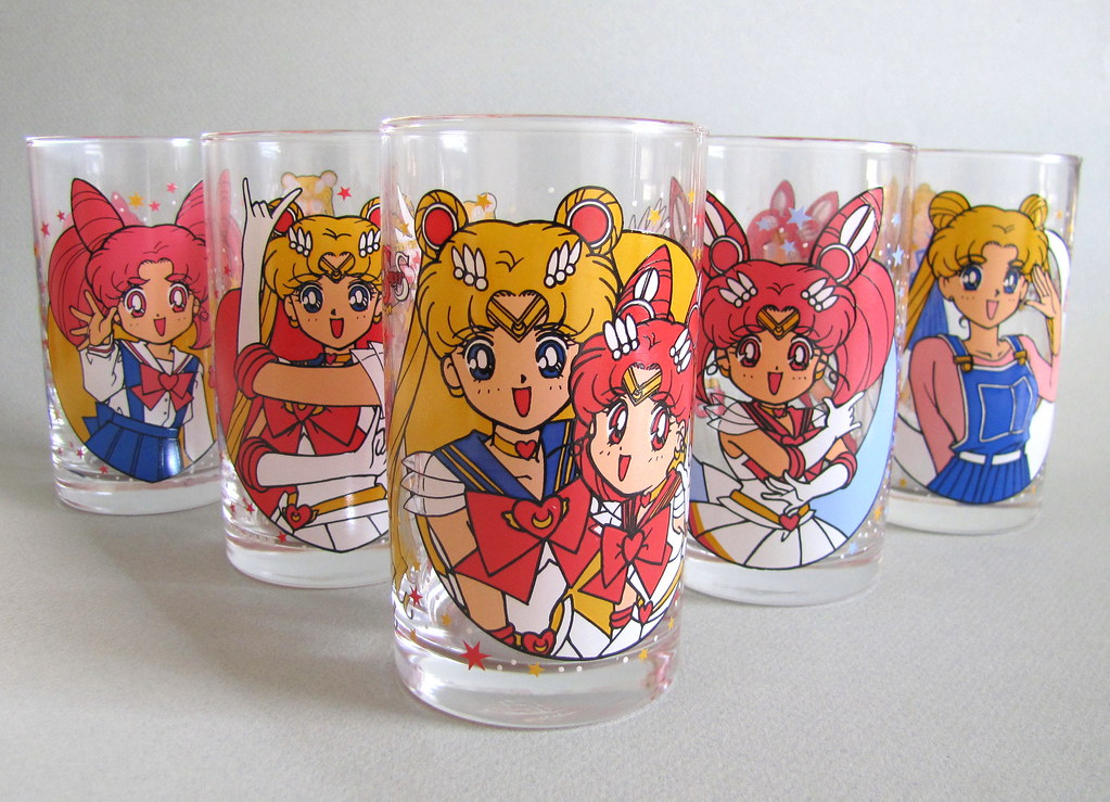Mars Drinking Glasses
