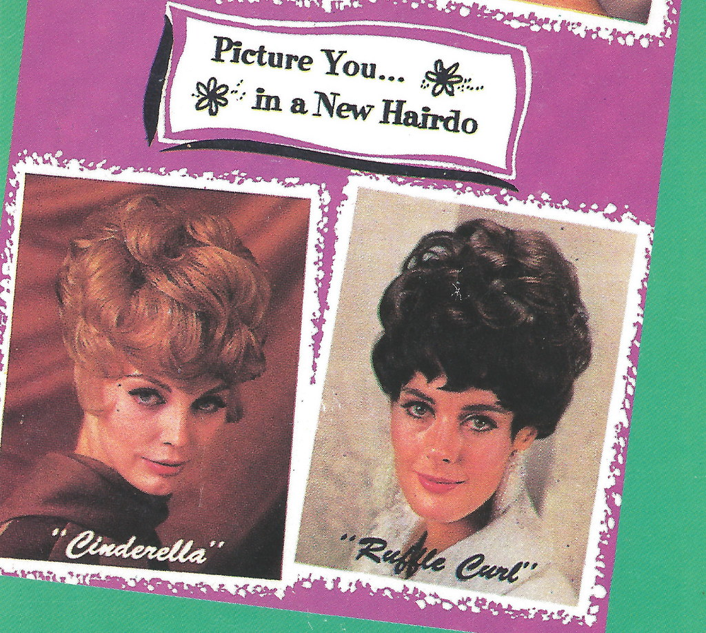Vintage Women 1950s - 1960s BIG HAIR and Accessories Hair ...