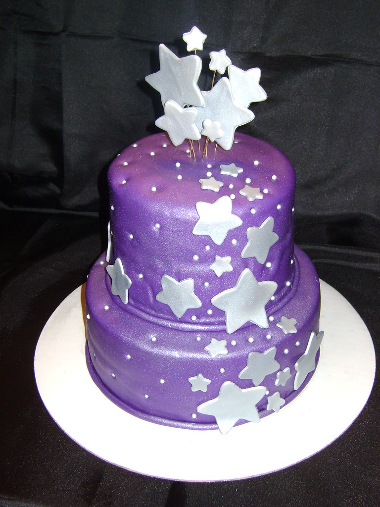 Stars Birthday Cake Deidra Glaize Flickr