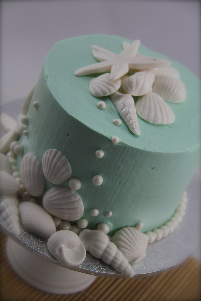 sea shell cake red velvet cake with white chocolate ganach flickr. Black Bedroom Furniture Sets. Home Design Ideas