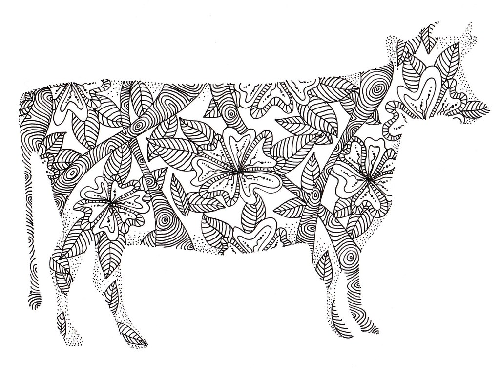 30 Free Coloring Pages Geometric Animal Coloring Book Just moreover Hembra De Venado Bura in addition Sheriff Badge Free besides Wild Horse Coloring Pages To Print also Chicken Coop. on cow coloring pages for adults