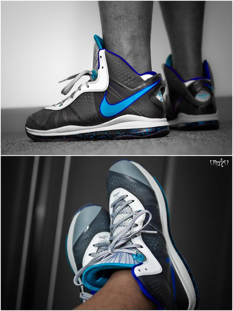 c2384622da61 Nike Lebron 8 v2  Spotlight Special Nike Lebron 8 V 2 Summit Lake Hornets  ...