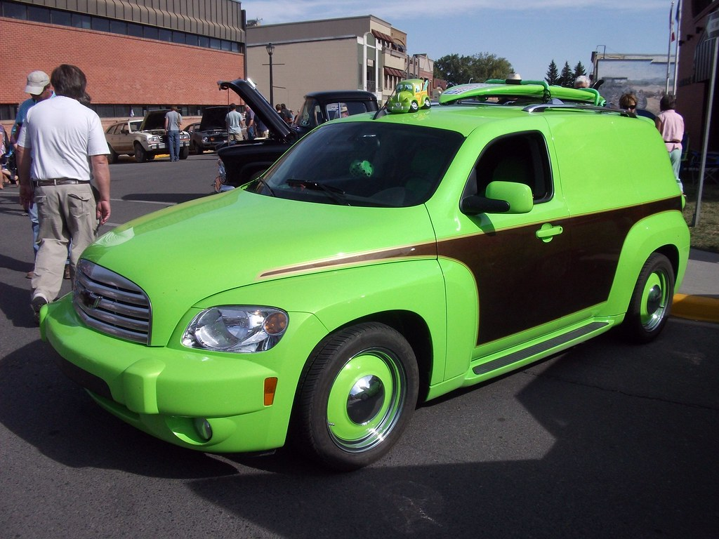 Chevrolet Hhr Very Green With Fake Wood Pane Chevy Diagram By Dave 7