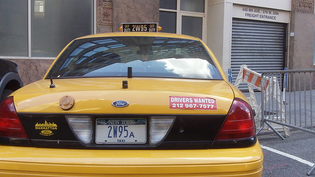 Nypd Undercover Now With Taxi Garage Sticker Flickr