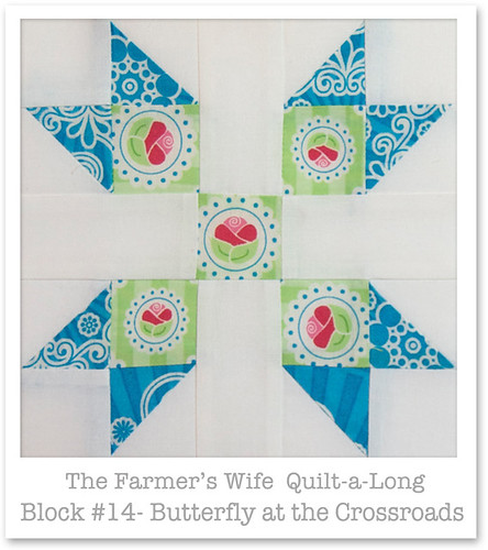 Farmer's Wife Quilt-a-Long - Block 14 | by Happy Zombie