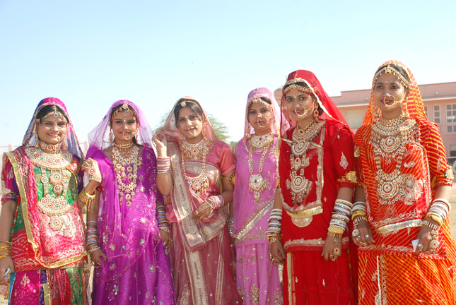 Pictures of rajasthani dresses