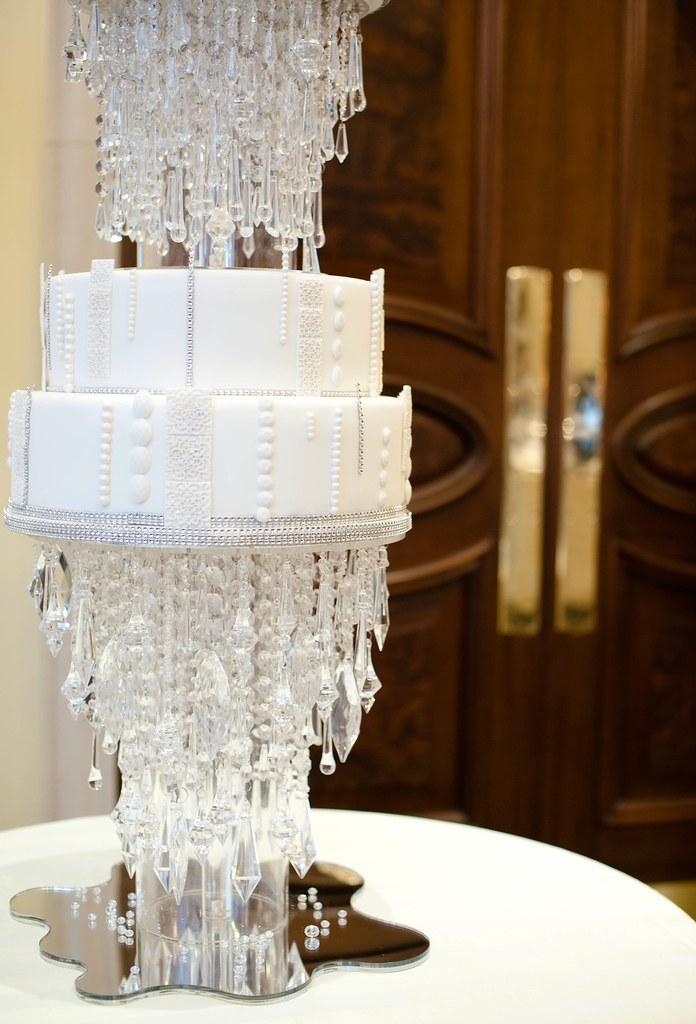 Crystal Wedding Cake | By Elizabethscakeemporium Crystal Wedding Cake | By  Elizabethscakeemporium