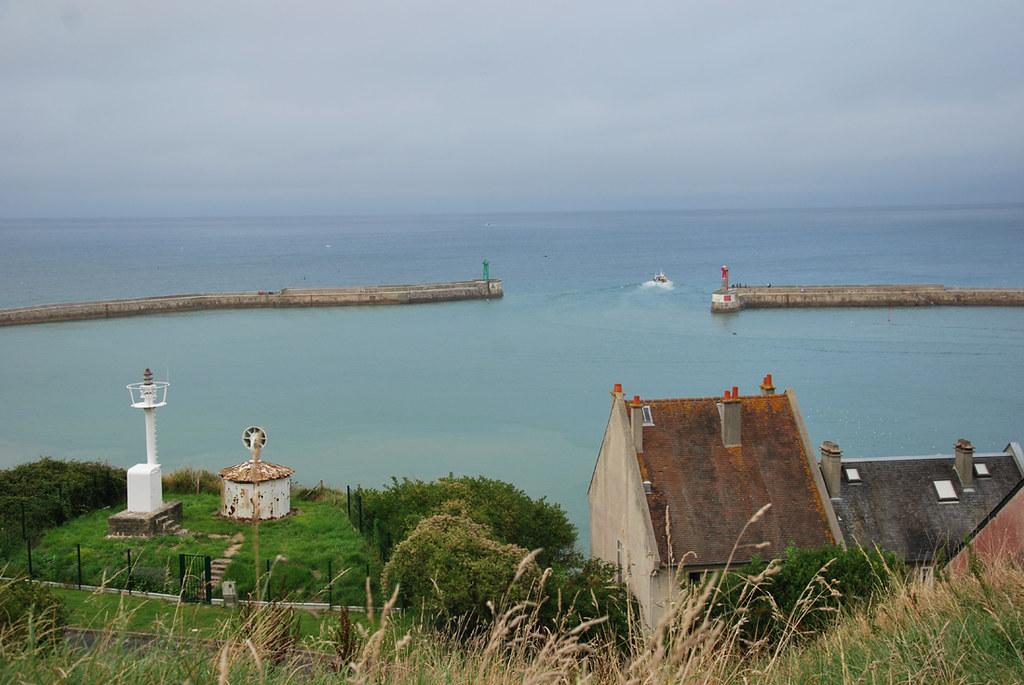 Port digues rue du phare port en bessin huppain 14 ca flickr - Office de tourisme port en bessin ...