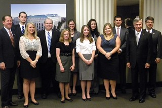 Nebraska Congressional Delegation and the DC Autumn Interns | by Representative Terry