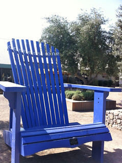 Big Blue Chair @ Sonoma Cornerstone | by Epiphany Chocolates