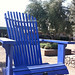 Big Blue Chair @ Sonoma Cornerstone