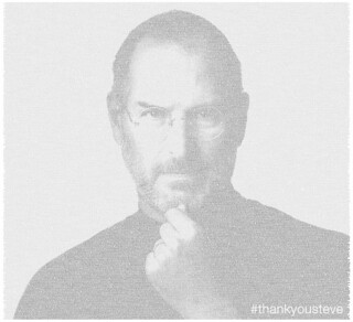 Visualization: #thankyousteve (Archive) | by @Twitter