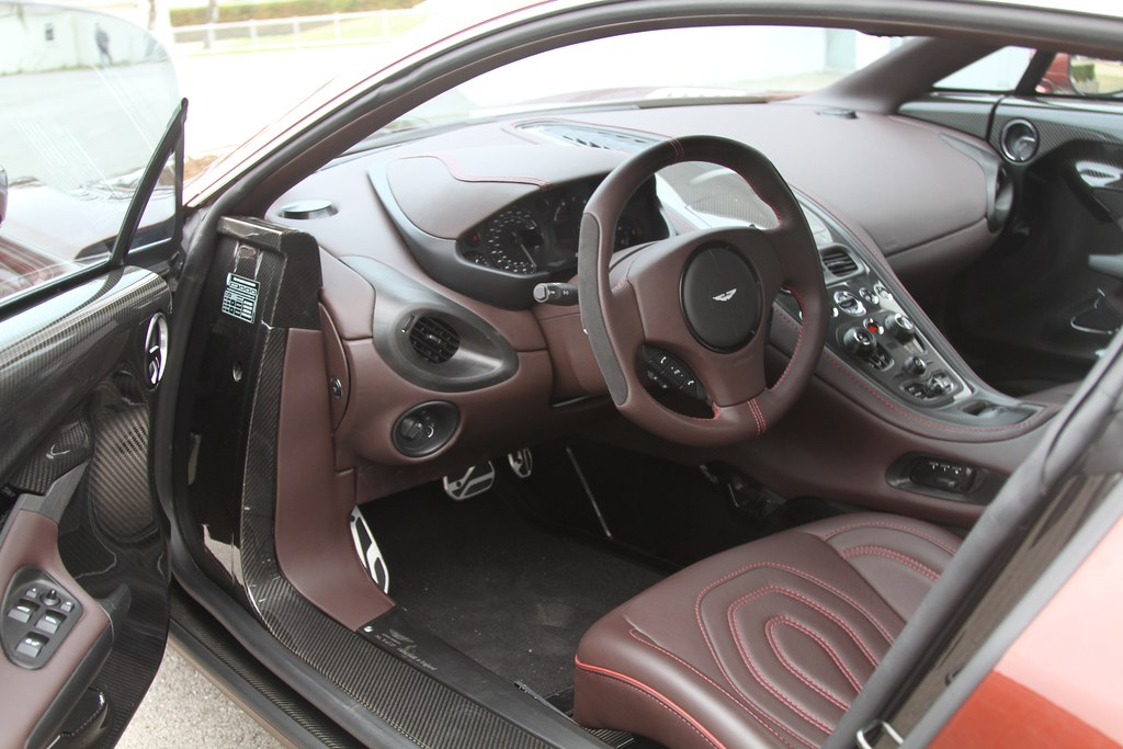 ... Aston Martin One 77 Interior | By P_c_w