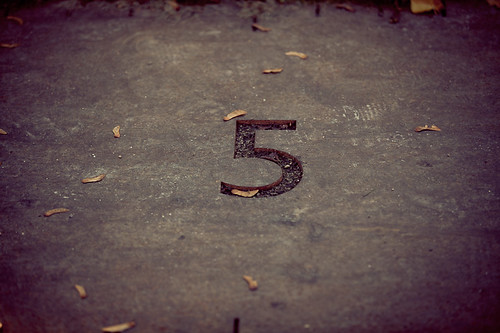 Number 5 | by Pierre Pocs