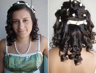 bridesmaid-hairstyle | by vanmobilehair