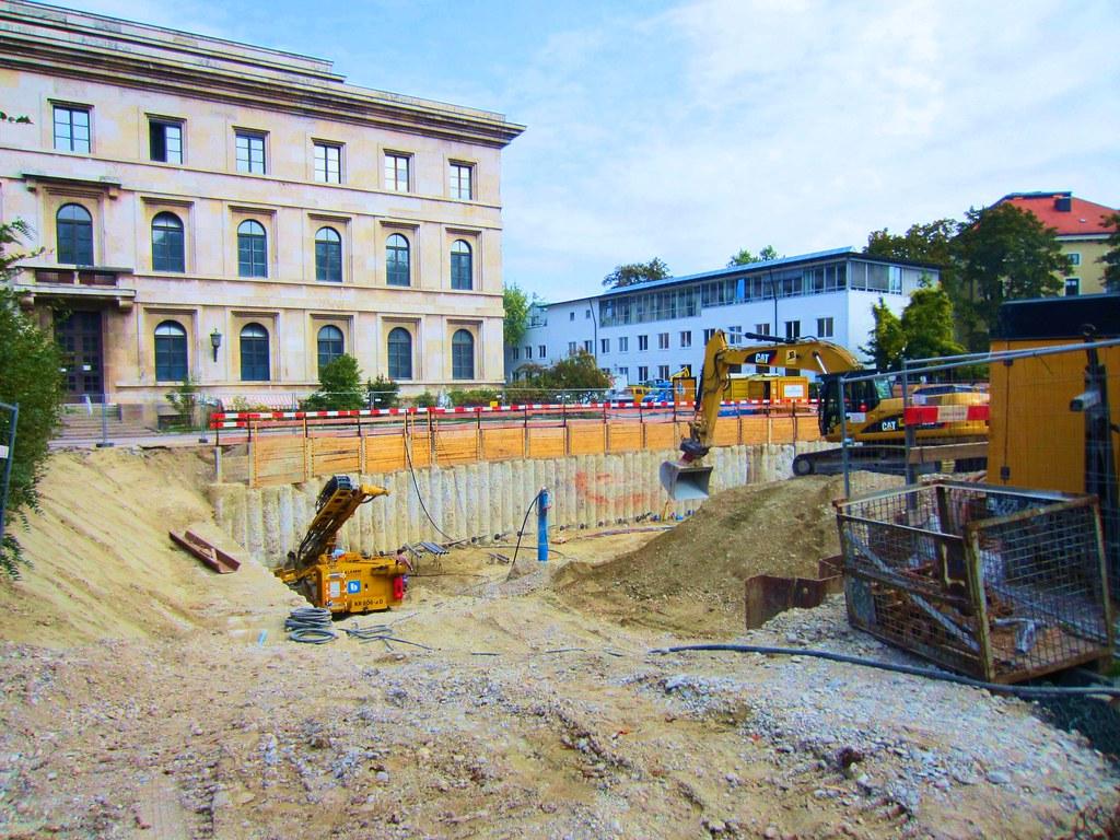 Braunes Haus munich braunes haus excavation site of the former flickr