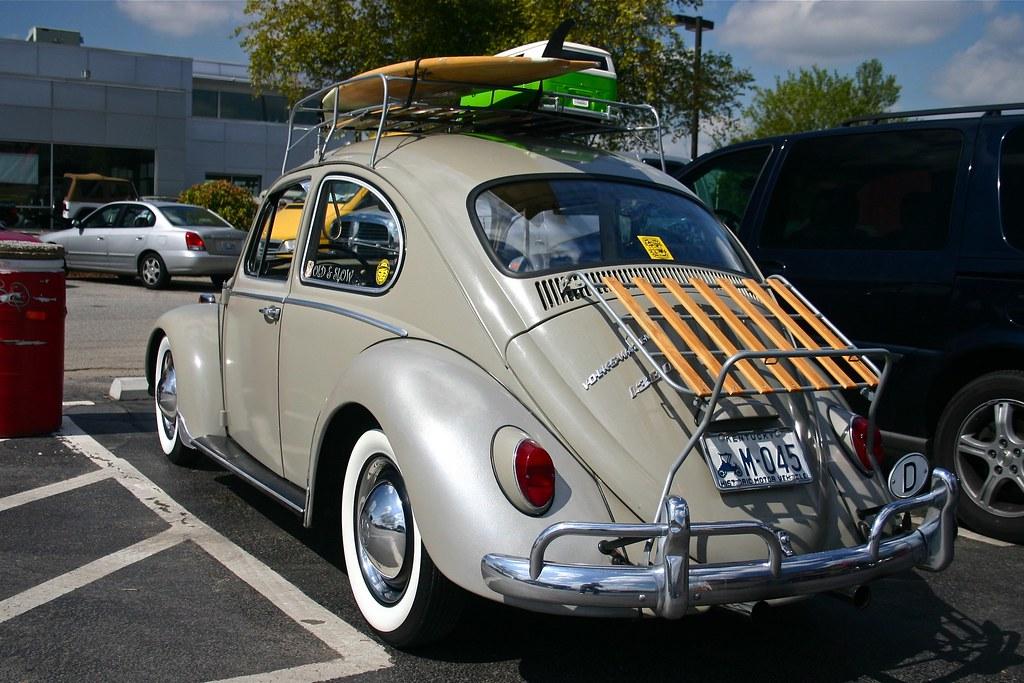 surf beetle vw derby  bachman volkswagen  louisville ky  pug father flickr