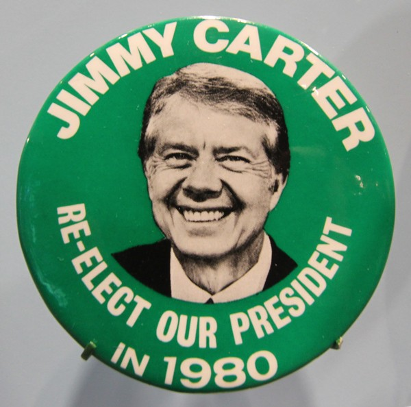 Campaign Badge For The 1980