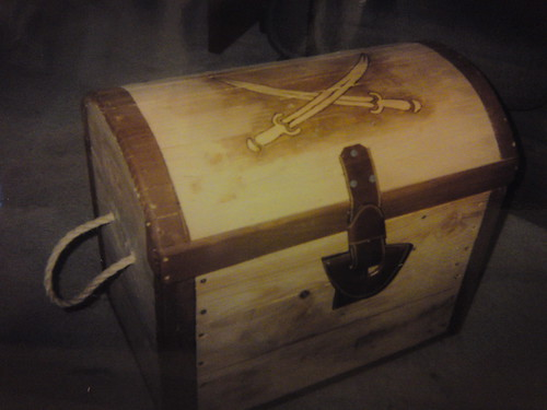 Toy Treasure Chest Beach : Treasure chest toy box made when the kids were younger