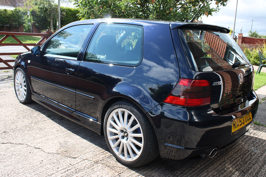 Vw Golf Mk4 R32 Moonlight Blue 3 Nick Preston Flickr