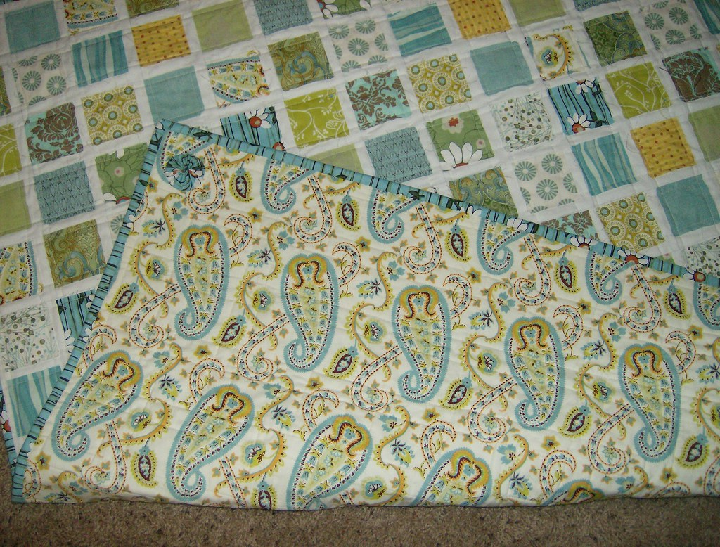 Vintage Baby Quilt Patterns Free : Vintage Baby Quilt by Yoyomama Designs yoyomamadesigns Flickr