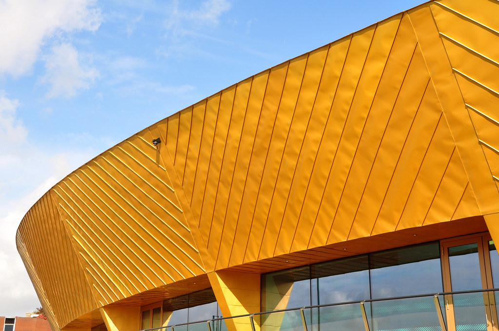 Firstsite Visual Arts Facility Colchester Tecu 174 Gold