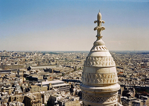 Paris - c1987 - The Rooftops of Paris from the Sacre Coeur | by Gareth1953 All Right Now