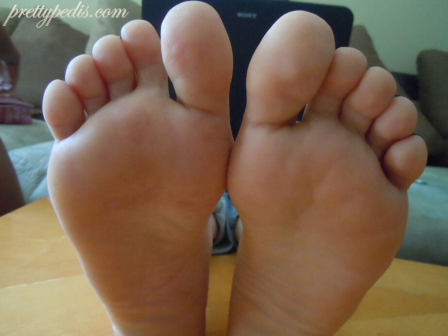 Ebony soles and toes