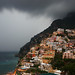 Lightning over Positano, Amalfi Coast, Italy