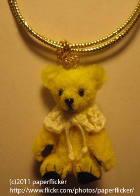 pipe cleanerchenille stems miniature teddy bear 2 flickr