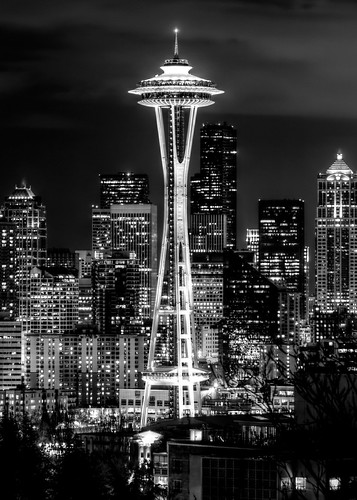 IMG_6375 Space Needle B&W | by Kyle Braget Photography