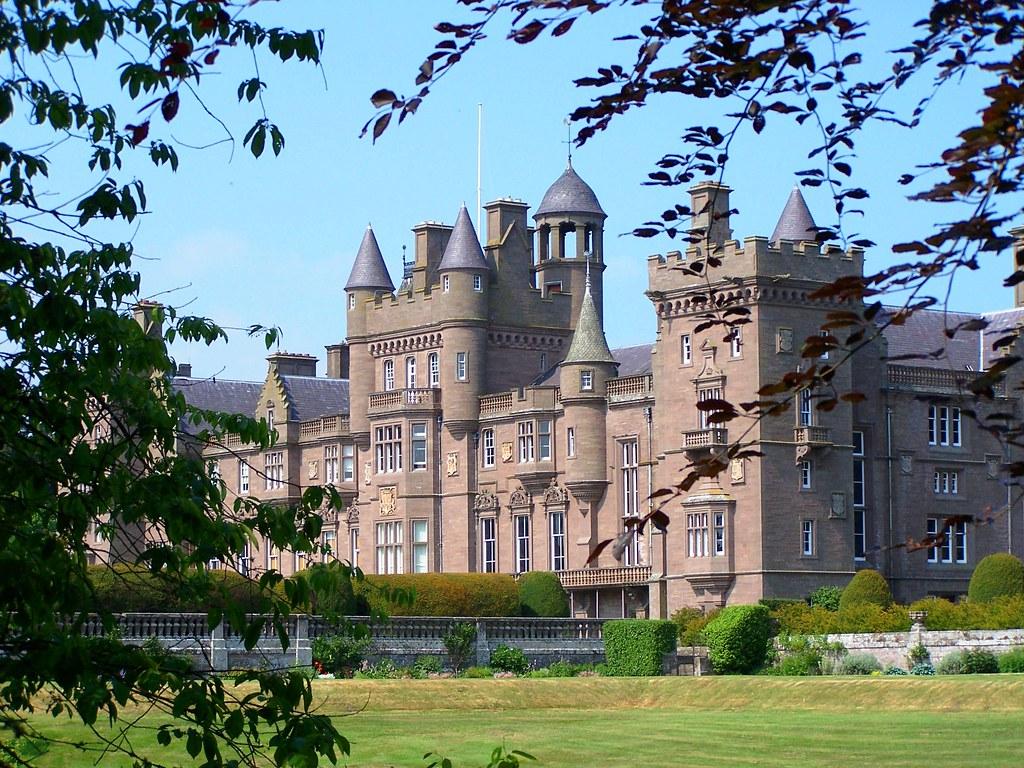 kinnaird castle kinnaird castle near montrose scotland