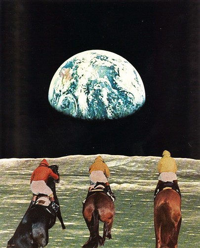 Race For The Prize | by collageartbyjesse