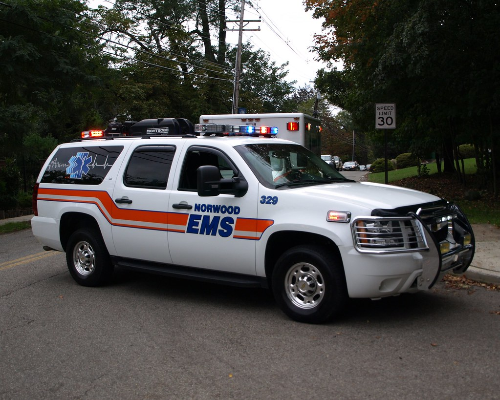 Norwood Ems Vehicle New Jersey 2011 Northern Valley